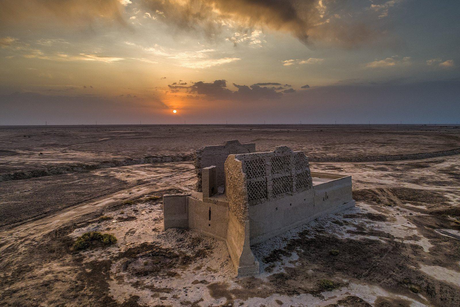 نمایی دیدنی از آسیاب بادی در سیستان+عکس