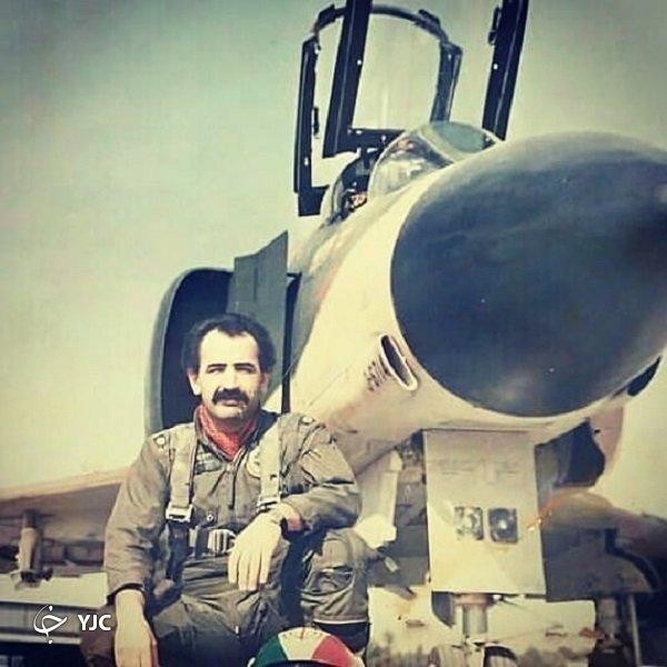 جان باختن خلبان قهرمان ایرانی در حادثه ای باورنکردنی+عکس