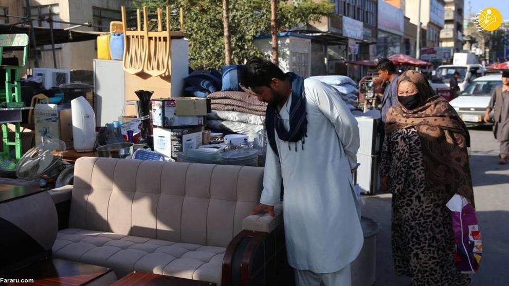 تصاویر تکان دهنده از افزایش فقر در افغانستان+عکس