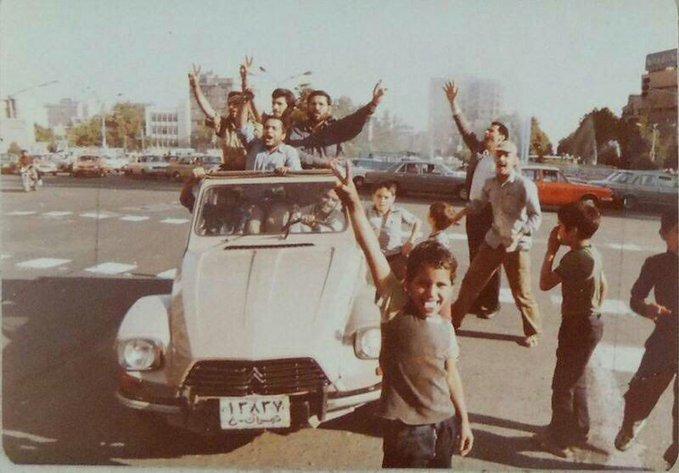 تصویر خوشحالی تاریخی مردم ایران جهانی شد+عکس