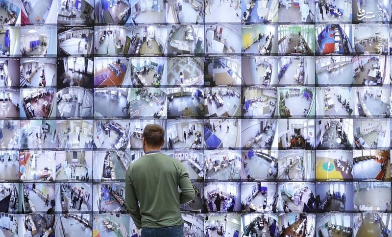 نظارت سختگیرانه در انتخابات روسیه+عکس