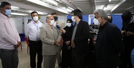 بازدید سرزده از مرکز شبانه روزی واکسیناسیون تجریش+عکس