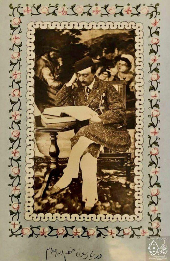 استوری ناصرالدین شاه از خودش لو رفت+عکس