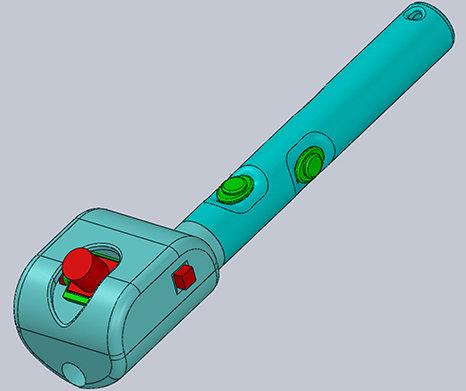 ابداع عصای رباتیک و سه بعدی هوشمند برای نابینایان