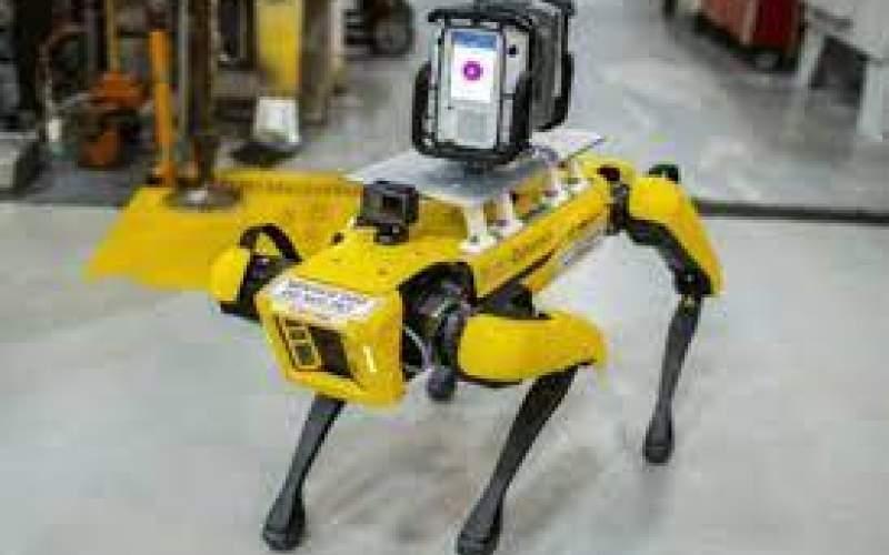 سگ رباتیک بوستون دینامیکز در کارخانه خودروسازی  به کار گرفته شد