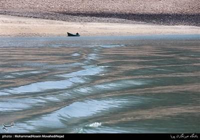 افت شدید ذخایر آب در سدهای تهران