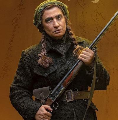 بازیگر معروف زن ایرانی در نقش جنگاور+عکس