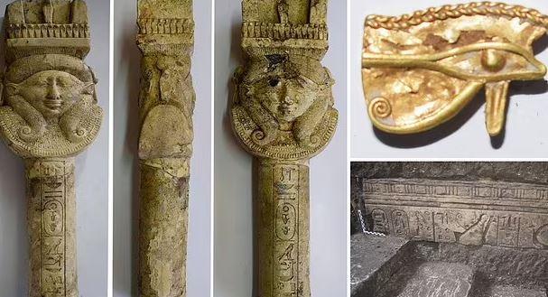 کشف جدید در تپه فراعنه مصر