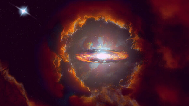 دو کهکشان جدید در لبه کیهان