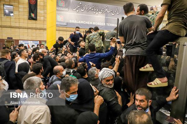 تصاویر جدید از وضعیت مرز شلمچه+عکس