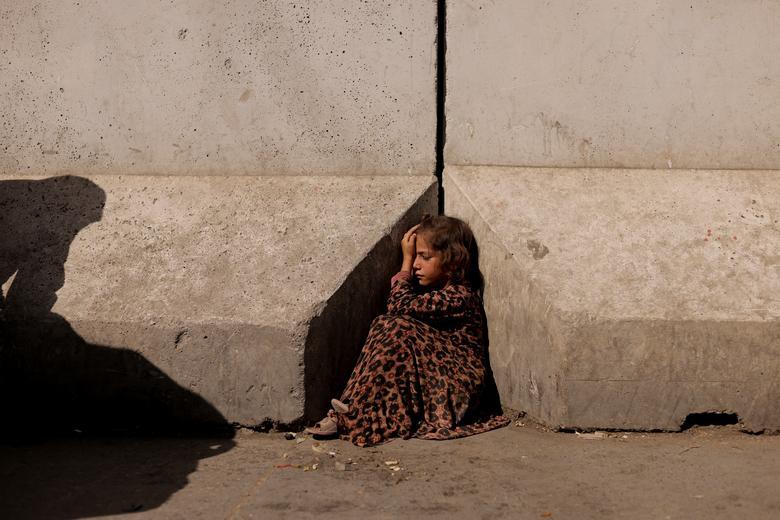 تصویر دردناک از دختر افغانستانی+عکس