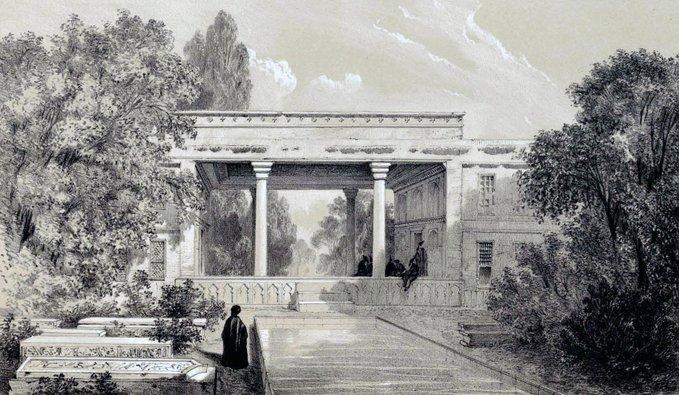 آرامگاه حافظ در دوره قاجار+عکس