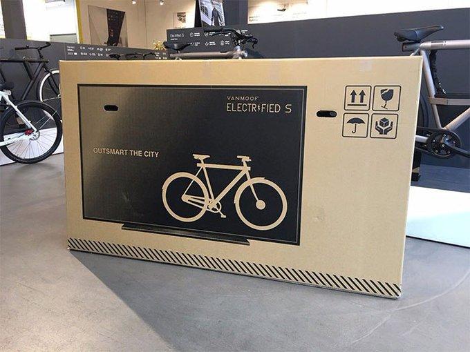 بسته بندی خلاقانه شرکت آلمانی برای دوچرخه+عکس