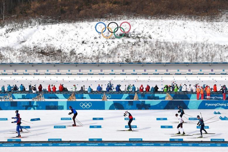 نماهایی از رقابتهای المپیک زمستانی / تصاویر