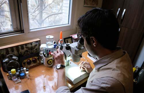 مرد عنکبوتی ایران را بشناسید +عکس