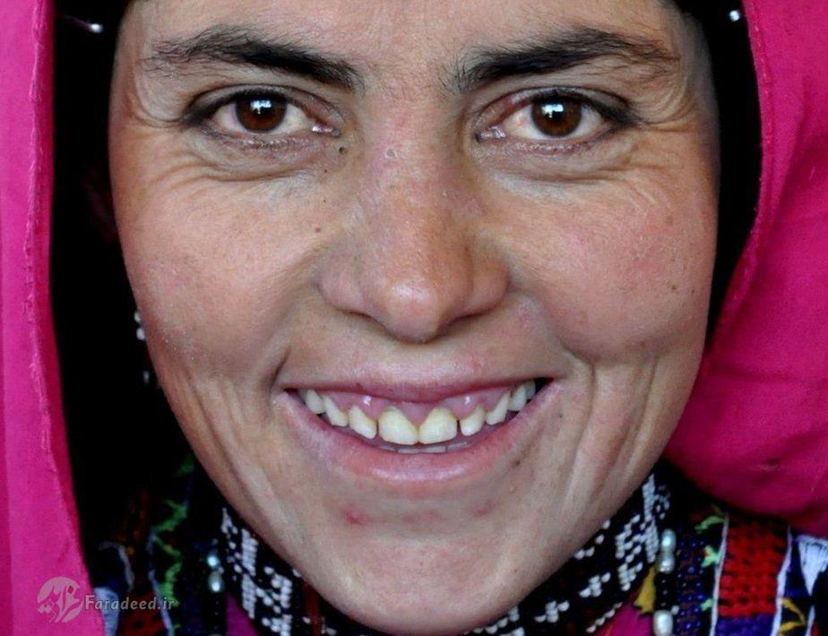 لبخند کارت پستالی از دورترین نقطه افغانستان / تصاویر