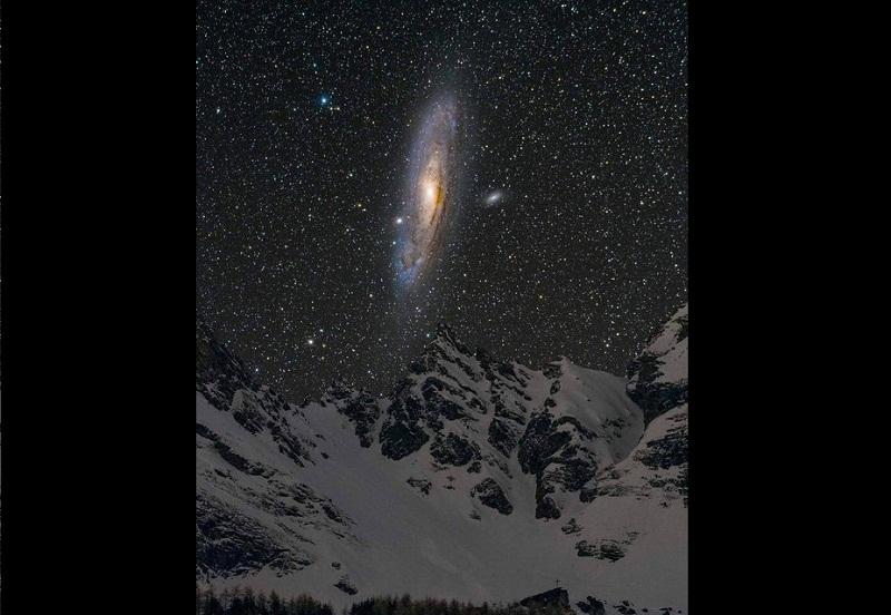 عکسی خارقالعاده از کهکشان «آندرومدا»