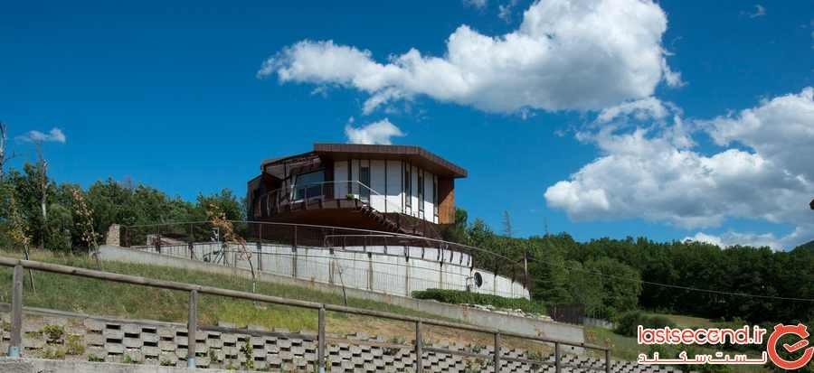 خانهای با قابلیت چرخش 360 درجه! +عکس