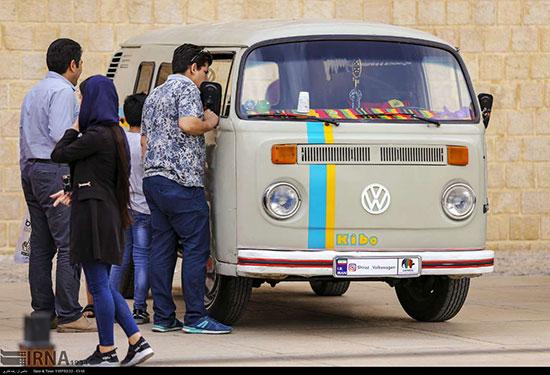 همایش خودروهای «فولکس» در شیراز /تصاویر