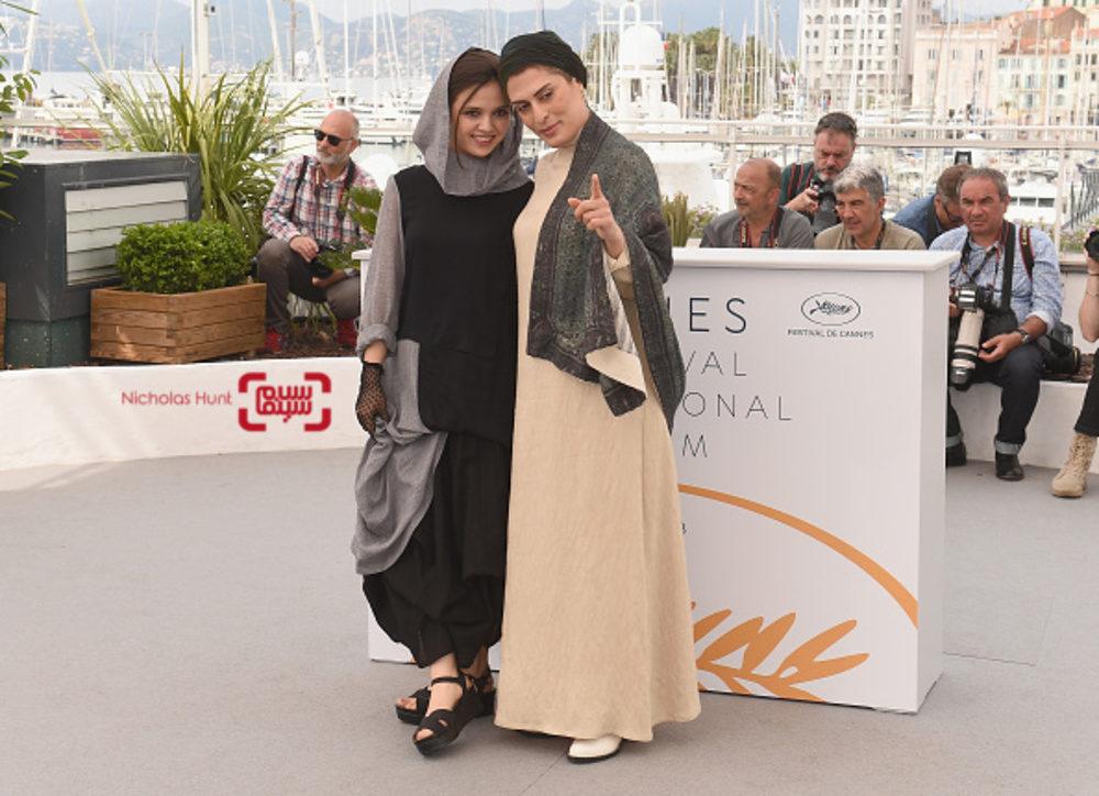 پوشش دو بازیگر زن ایرانی در جشنواره «کن» /عکس