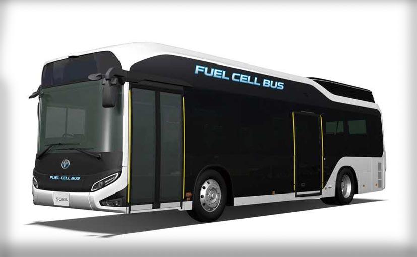 ژاپن از این اتوبوسها در المپیک 2020 استفاده خواهد کرد +عکس