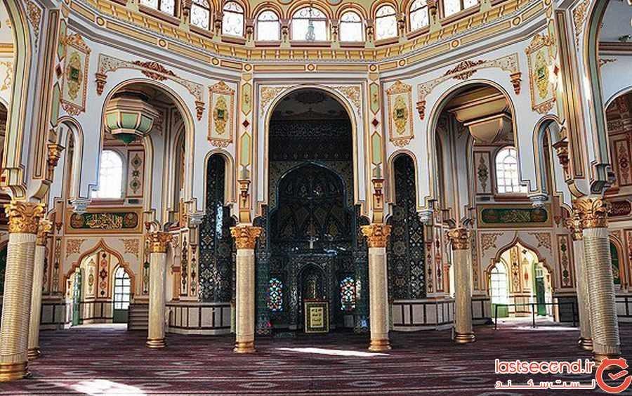 مسجد شافعی کرمانشاه درخشش معماری ایران + تصاویر