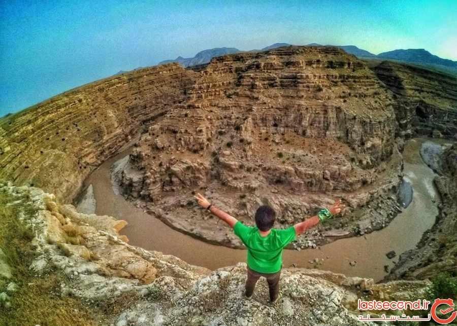 منحصر بفردترین دره در ایران / تصاویر