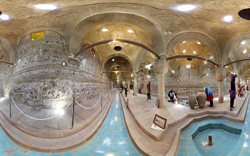 رختشویخانه زنجان؛ نمونهای منحصر به فرد در جهان + تصاویر