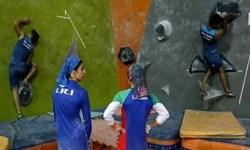 ماجرای اردوی مختلط تیم ملی سنگنوردی +عکس