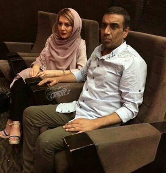 عکس: بازیگر طنز و همسرش عزادار شدند