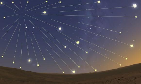 آسمان شامگاه فردا شهابباران میشود +عکس