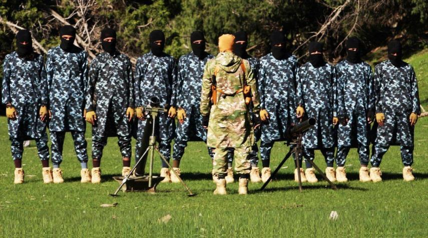 رونمایی از مرکز آموزش نظامی عناصر داعش در افغانستان + عکس