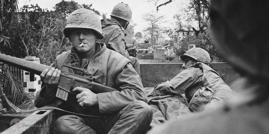 تصاویر کمیاب از جنگ ویتنام