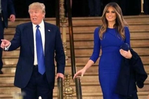 همسر ترامپ منتظر فرصتی برای طلاق!
