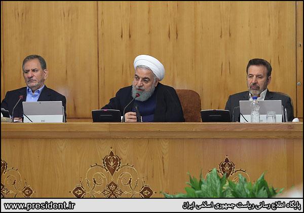 روحانی: قیمت دلار قطعاً پایین میآید