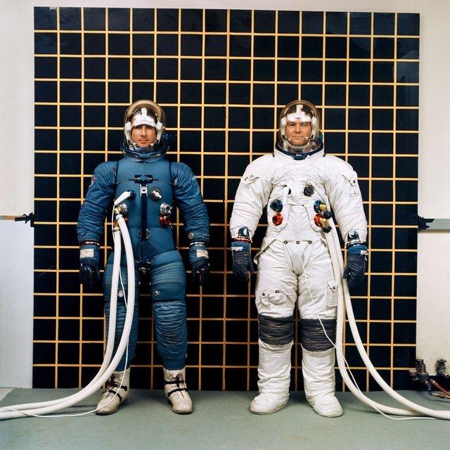 دشواریهای آزمایش لباس فضایی