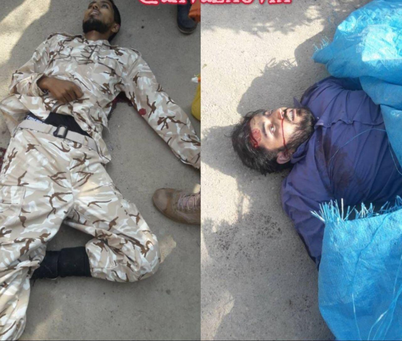 تصویر تروریست های کشته شده در اهواز +عکس