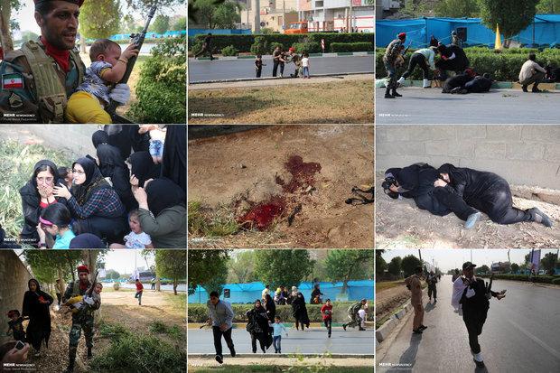 اسامی 25 شهید حادثه تروریستی اهواز