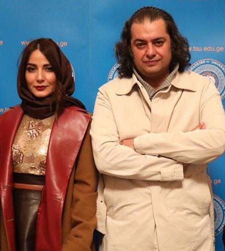 عکس: تحسین آقای کارگردان از بازی همسرش در «دلدادگان»
