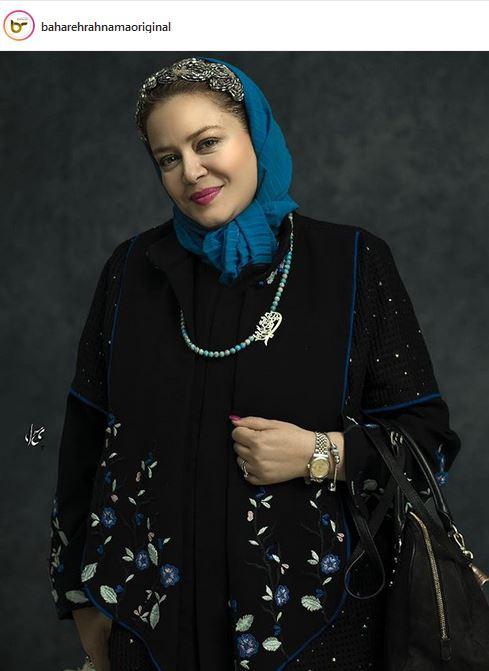 عکس:  بهاره رهنما با لباس های مجلسی اش!