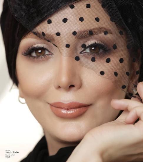 عکس: چهره بازیگر زن به عنوان مدل آرایشی!