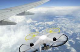 خطر جدی پهپادها برای هواپیماهای مسافربری
