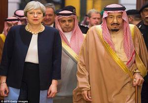بریز و بپاش خاندان سعودی برای انگلیسیها