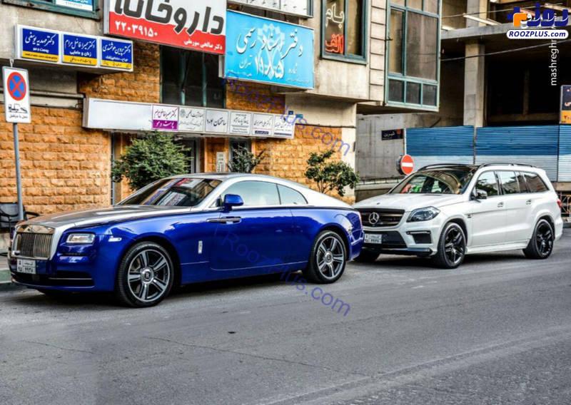 سوپر لوکس ترین خودرو انگلیسی در تهران +عکس