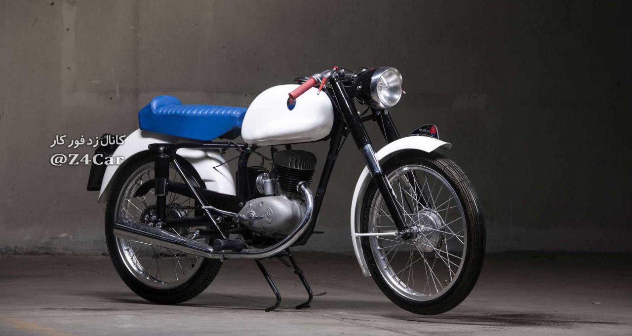 موتورسیکلت مازراتی دیده بودین؟ +عکس