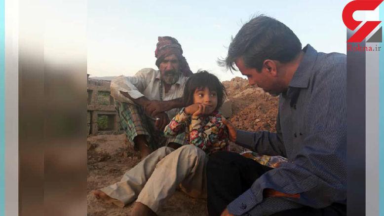 زندگی دردناک دختر ۶ ساله ایرانی در گاوداری متروکه! +عکس