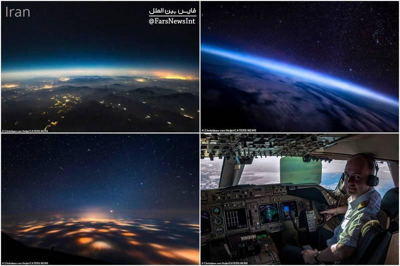 عکس: تصویر زمین از آسمان ایران