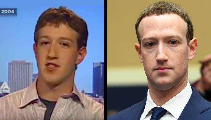 قیافه میلیونرها قبل و بعد از پولدار شدن + تصاویر