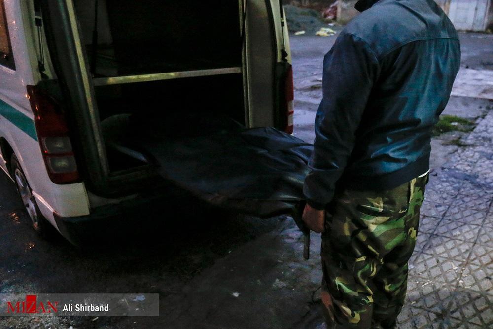 عکس: جنازه «سلطان سکه» و »سالم» پس از اعدام