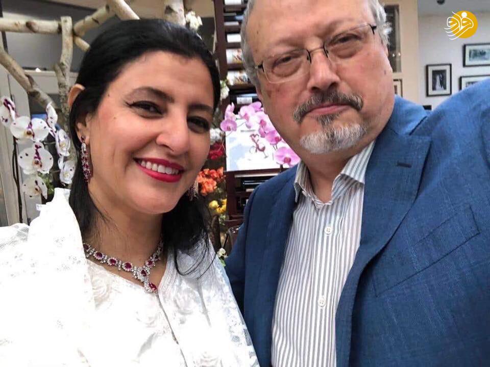 به به! آقای خاشقجی و همسر تازه مکشوف +عکس